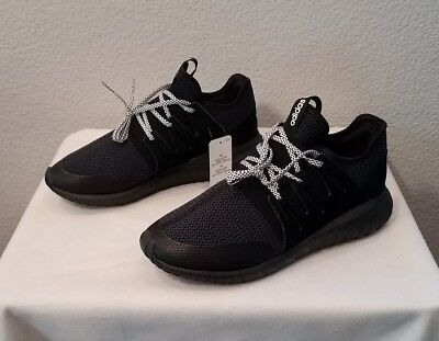 buy popular 8dacb 5aef5 New Adidas Originals Tubular Radial Shoes~Core Black~S76719~Men s Size 10
