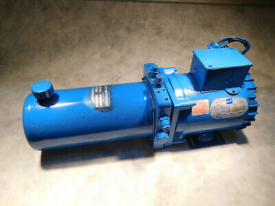 MTE 3039 Hydraulic Power Unit 1HP 3PH  3/4GPM 1800PSI