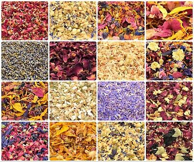 Edible Dried Flowers & Petals 52+ Types! Tea, Cooking, Coctail Garnishes, Craft