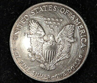 1993 American Silver Eagle Dollar 1 oz .999 Fine Silver, Uncirculated ...