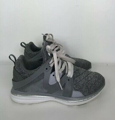 32064cd7adc APL Athletic Propulsion Lab 7.5 Ascend Cosmic Grey Metallic Silver Sneakers
