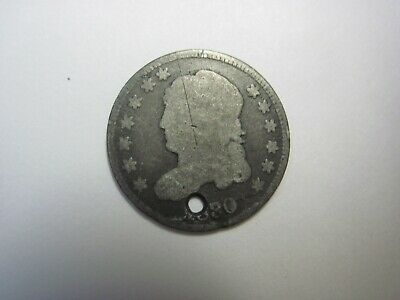 Circulated 1830 Capped Bust Half Dime Uncertified Ungraded Business Strike