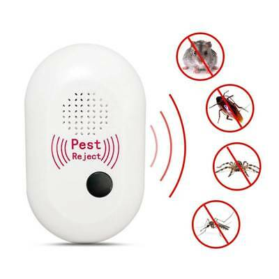 1 Pcs Electronic Ultrasonic Pest Reject Repeller Mosquito Cockroach Mouse Killer