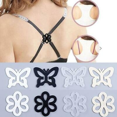 1pcs Durable Cleavage Control Sports Racerback Bra Buckle Clip Strap Holder