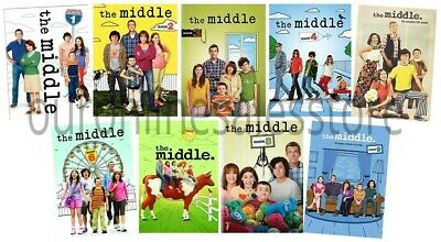 The Middle TV Series Complete All 1-9 Seasons DVD Set Collection Episodes Midle