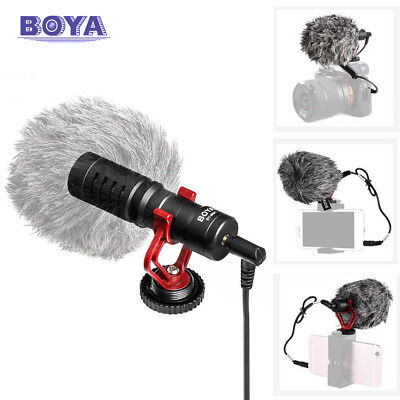 BY-MM1 Cardiod Shotgun Video Microphone MIC Video for iPhone Samsung Camera BOYA