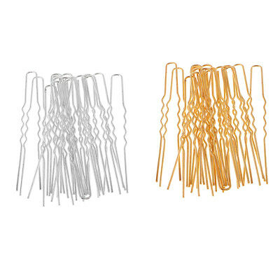 20Pcs U Shaped Hair Clips Hair Pins Hair Salon Tools Jewelry Making Findings