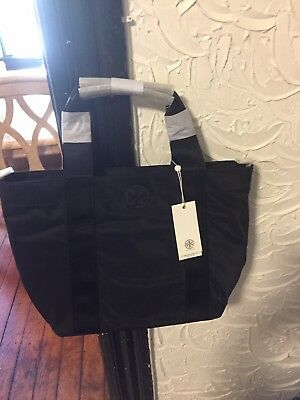 dc34706067d5e  258 NEW TORY Burch Quinn Small Nylon Zip Tote Black -  120.00 ...