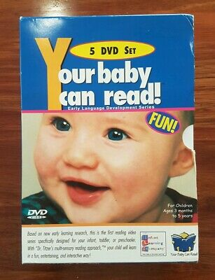 Your Baby Can Read - 5 DVD Set