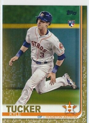 Kyle Tucker RC 2019 Topps Series 1 #60 Gold #/2018 Astros