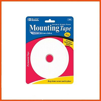 24 x DOUBLE SIDED FOAM MOUNTING TAPE 5.08 MT | Permanent Surface Tape Bonding