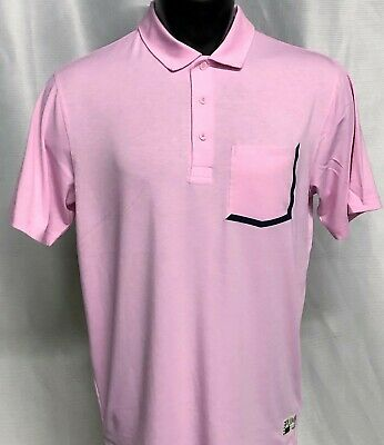Puma Golf Faraday Polo Shirt - Pale Pink - New with Tags - 2019 Style