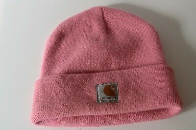 1c21ad56662 Carhartt Youth CB8905 Beanie cap toboggan Rose Bloom NEW With Tags NWOT