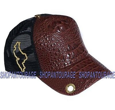 063507bb204 RED MONKEY Lizard Case Nuevo Leon RM1173 Limited Edition New Brown Trucker  Hat