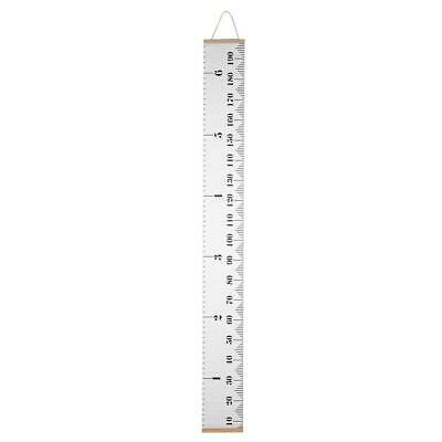 Baby Growth Height Record Wall Hanging Ruler with Wood Frame Measurement Chart