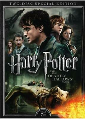HARRY POTTER & THE DEATHLY HALLOWS: PART II (Region 1 DVD,US Import,sealed)