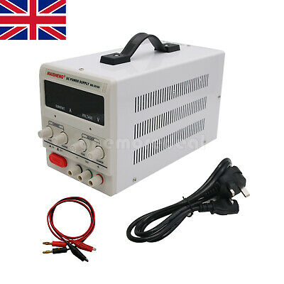 MS3010D 50Hz 300W 30V 10A Adjustable Regulated DC Power Supply Regulator UK SHIP