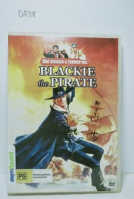 Terrence Hill and Bud Spencer -  Blackie the Pirate - Region 4 DVD  (DA38)