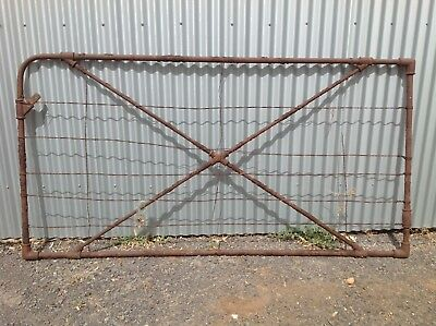 HV McKAY SUNSHINE GATE EARLY1900s. 2.4wide.  No 2.    Shed,GARDEN, Man Cave