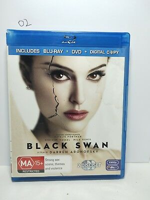 Black Swan (Blu-ray, 2011) (Blu-ray Australian region bluray) (02)