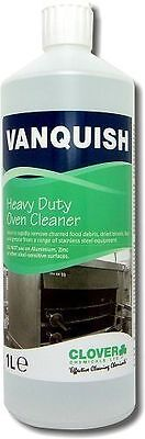 Vanquish Heavy Duty Oven Cleaner, Clover Chemicals 1 x 1L inc P&P