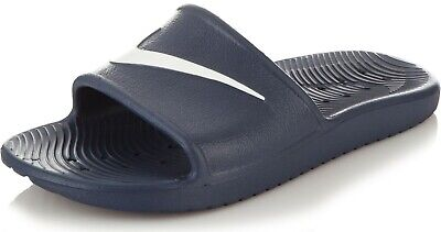 ee5e1cbc998 NIKE SOLARSOFT MEN S Slippers Slides Flip-Flops 386163-416 blue ...