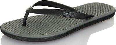 ed485de2223 Nike Solarsoft Thong II Men s Slippers Slides Flip-Flops 488160-090 black