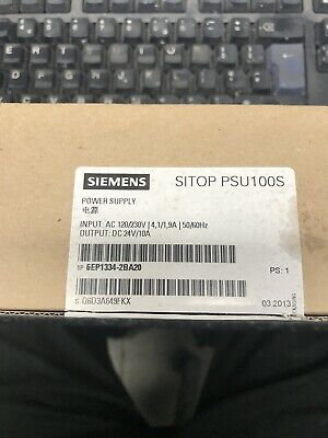 Power Supply Unit SITOP 6EP1334-2BA20  Siemens 6EP133342BA20