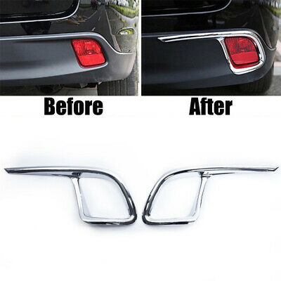 Light Cover For Toyota Highlander 2014-2018 Rear ABS Parts Exterior Decoration