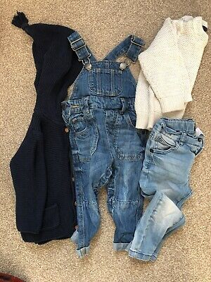 Next baby boys clothes bundle 9-12 months jeans tops outfits sets. Good cond.
