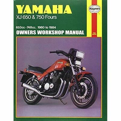 Yamaha Xj 650 and Xj 750 Fours Owners Workshop Manual, No. M738: '80-'84 Shoemar