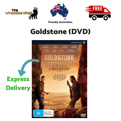 Goldstone (DVD) Rated M Movie Directed by Ivan Sen with Express Delivery
