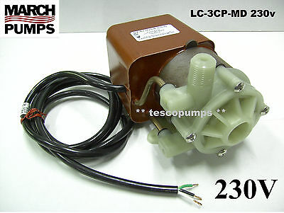 March Submersible Pump LC-3CP-MD 230v 50/60hz 0130-0159-0200 PML500CL