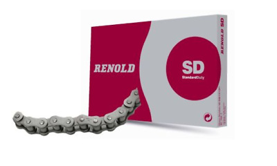 """Renold Red SD100H1X10FT Steel Roller Chain 1.25"""" (1.1/4"""") Pitch X 3.05 METRE BOX"""