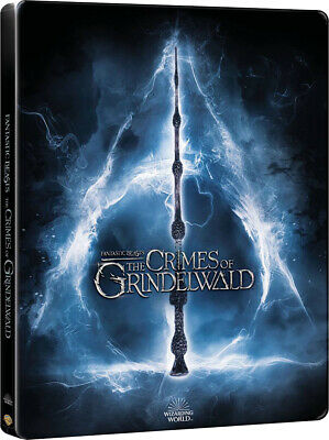 Fantastic Beasts: The Crimes of Grindelwald STEELBOOK 3D + Blu-ray +Ext. Cut NEW
