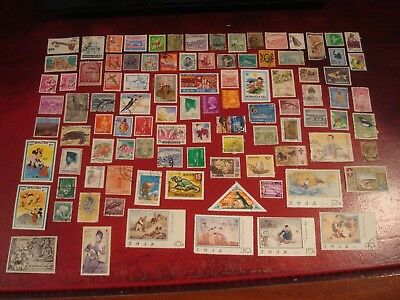 ASIA - 99 x ASIAN STAMPS (5) - ALL DIFFERENT