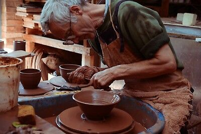 POTTERS WHEEL WHOLE DAY POT THROWING TASTER CLASS Clay to Kiln