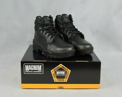 Magnum Patrol CEN Safety Boots Durable Leather Boot Rustproof Size UK 4 EU 37