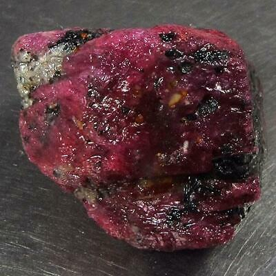 95.51 Ct - Wonderful Unheated Natural Rough Red Ruby Mozambique