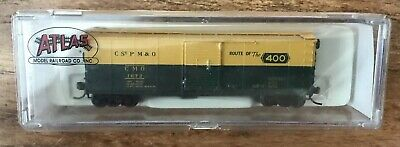 N Scale Atlas 45810 Box Car C&NW 1672  (MINT) Free Shipping!