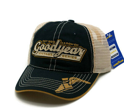 3e13970b57b HAT - Goodyear Mess Embroidered Vented Trucker Style Ball Cap FREE SHIPPING