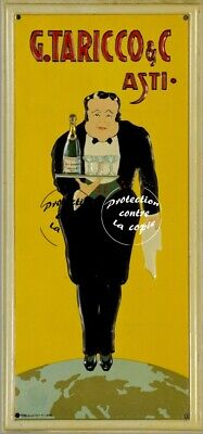 G. TARICCO ASTI Rivb-POSTER/REPRODUCTION A3+(*) d1 AFFICHE VINTAGE