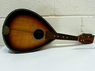 Vtg 8 String Mandolin (Summerfield Brothers - England ) PMB1 - Needs TLC- 202