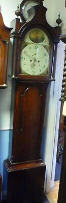 Very Nice Antique Longcase Clock By J Bolton In Full Working Order