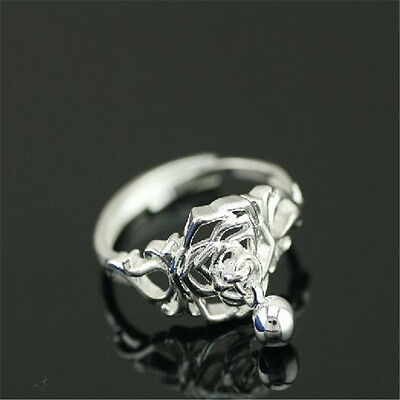 925 Solid Sterling Silver Plated Women/Men NEW Fashion Ring Gift SIZE OPEN HJ203
