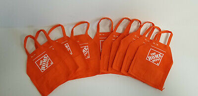 Lot of 10 Home Depot Apron Gift Card Holders