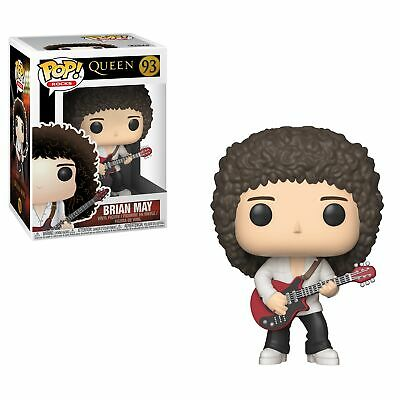 Queen Band Brian May with Guitar Music POP! Vinyl Figure #93 FUNKO NEW MIB