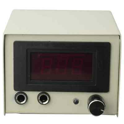 Beige Exquisite Quality Durable Stainless Steel LCD Digital Tattoo Power Supply