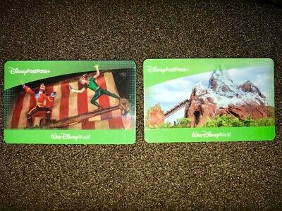 TWO 1-Day Park Hopper Ticket/Pass - Disney World, Magic Kingdom, Epcot,+FASTPASS
