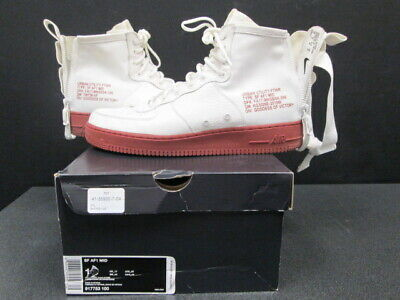 brand new d2d6f 492fa Nike Air Force 1 SF AF1 Mid SZ 12 Ivory Mars Stone Special Field 917753
